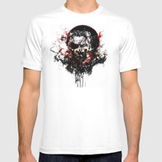 Metal Gear Solid V: The Phantom Pain Mens Fitted Tee White SMALL