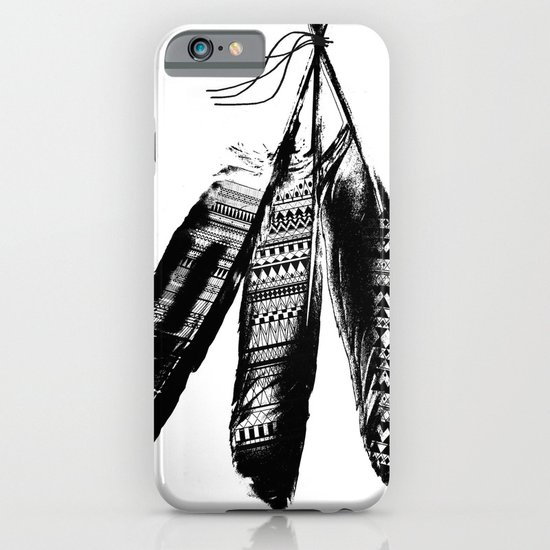 Tribal Feather Trio iPhone & iPod Case