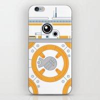Minimal BB8 Droid iPhone & iPod Skin