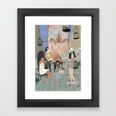 Castitas Framed Art Print