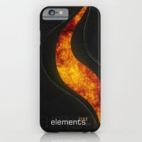 iPhone & iPod Case featuring elements | fire by Little cloud