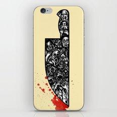 foul deeds iPhone & iPod Skin