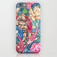 iPhone & iPod Case featuring Koi Pond by Vikki Salmela