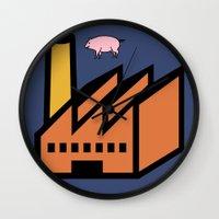 Unicode Animals Wall Clock