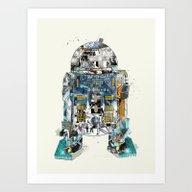 Pop Art R2 Art Print