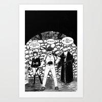 CARVER: A Paris Story Art Print