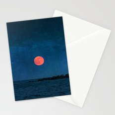 Strawberry Moon Stationery Cards