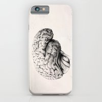 brain iPhone & iPod Cases featuring Brain by Andreas Derebucha