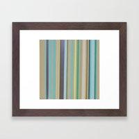 Verdes Framed Art Print
