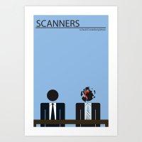 Scanners - Altenative Mo… Art Print