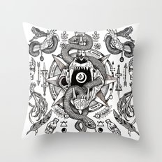 Ad Mortumn Throw Pillow