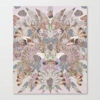 Pastel Powder Gems  Canvas Print