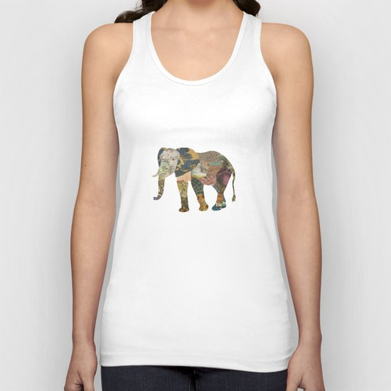 Elephant - The Memories of an Elephant Unisex Tank Top