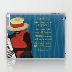 Praise and Worship Piano Player Laptop & iPad Skin