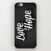 Love & Hope iPhone & iPod Skin