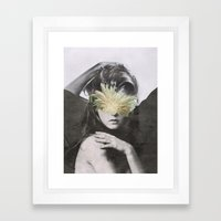 WOMAN 9/30 (2015) Framed Art Print