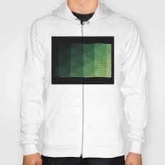 Greeny Geometry Hoody