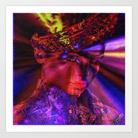 """princess Art Prints featuring """" Princess """" by shiva camille"""