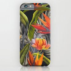 Bird of Paradise Pattern Variant 3 Slim Case iPhone 6s