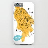 iPhone & iPod Case featuring Wolves by Ann Van Haeken