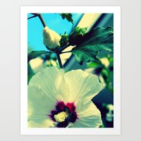 Tiki Flower With Bud ~ F… Art Print