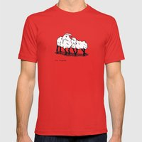 Ma Biquette Mens Fitted Tee Red SMALL