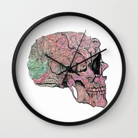 Life In Cycles Wall Clock