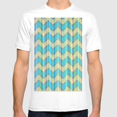 Cupcake White SMALL Mens Fitted Tee