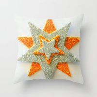 The Star of the Show Throw Pillow