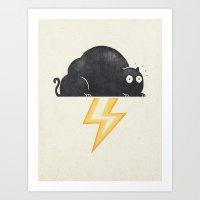 The Thunder Cat Art Print