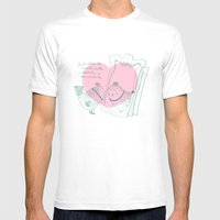 Lark mirror. Mens Fitted Tee White SMALL