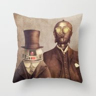 Duke R2 And Baron Von Th… Throw Pillow
