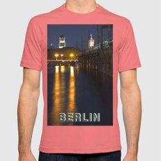 GHOST HOUR in BERLIN Mens Fitted Tee Pomegranate SMALL
