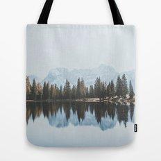 Italian Dolomites (landscape version) Tote Bag