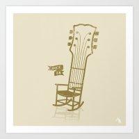 Rock On!  Art Print
