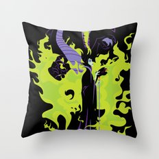 Maleficent Mistress of All Evil Throw Pillow