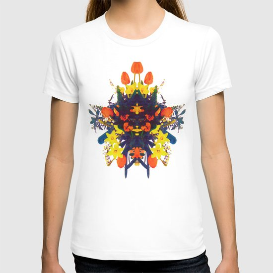 CRAZY FLOWERS T-shirt