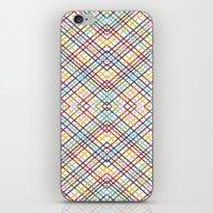 Weave 45 Mirror iPhone & iPod Skin