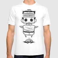 Void And Tranquil Mens Fitted Tee White SMALL