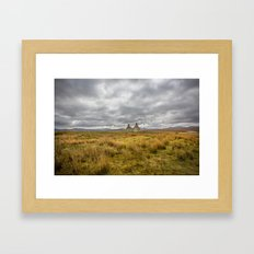 Derelict Cottage Framed Art Print