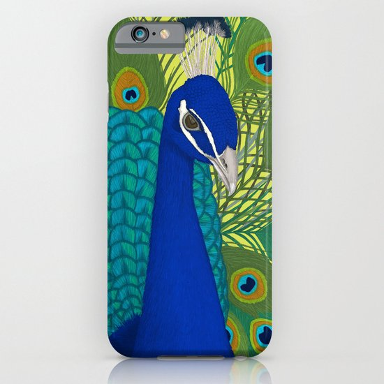 Peacock in Colour iPhone & iPod Case