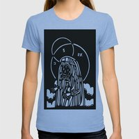 CRY Womens Fitted Tee Athletic Blue SMALL