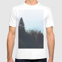Washington Woodlands  Mens Fitted Tee White SMALL