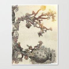 my organic alphabet - Letter C Canvas Print