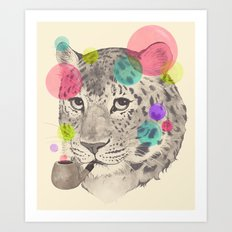 leopard changes his spots Art Print