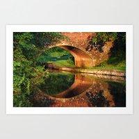 Sunlight Bridge Art Print