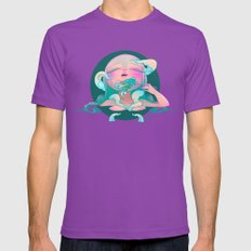 Horror Fish Mens Fitted Tee Ultraviolet SMALL