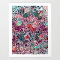 Barcelona Texture #4 Art Print