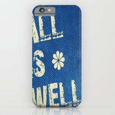 All Is Well - Blue Geni-ism Series iPhone 6 Slim Case