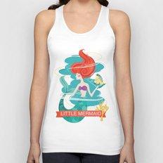 Little Mermaid Unisex Tank Top
